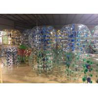 China Adults Inflatable Bubble Soccer Balls Bumper Ball Diam 1.8m Highly Safety on sale