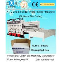 Buy cheap High Speed Die Cutter Flexo Printer Slotter Machine For Carton Box Making from wholesalers
