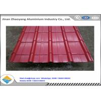 Buy cheap Color Coated 1060 Corrugated Aluminum Sheet Zinc Aluminum Roofing Panels product