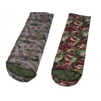 Quality Camouflage Down Sleeping BagWith Pillow , Hiking Outdoor Sleeping Bags for sale