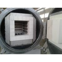 Buy cheap 32L Lab Vacuum Box Furnace Metal Mantle Body Fully Sealed With Four Sides Heating product