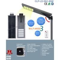 Buy cheap 2017 Top Sale Outdoor IP65 Bridgelux 80W LED Solar Street with Patent Smart MPPT Controller from wholesalers