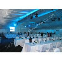 Quality 20M Width Full Line Decorated Outdoor Event Tent with Aluminum Alloy Main Frame for sale