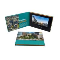 Buy cheap Advertising promotion video brochure card 7 inch 7inch in print lcd screen book digital catalog product