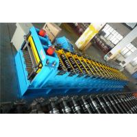 Buy cheap Post Cutting Silo Roll Forming Machine With Wall Panel Structure Gcr15 Roller product