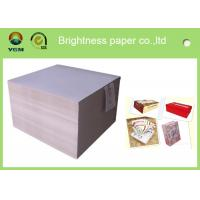 Buy cheap smooth surface duplex board grey back 350g 700*1000mm for printing and packaging product