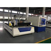 Buy cheap 1500W Laser Power Metal Cutting Machine 80m / Min Max Positioning Speed product