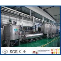 Buy cheap Full Automatic PLC Control Apple Juice Making Plant For Fruit Juice Factory product