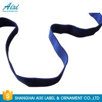 Buy cheap Decorative Coloured Fold Over Elastic Webbing Straps For Underwear product