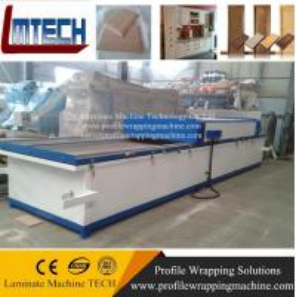 Buy PVC film MDF Kitchen vacuum membrane press machine at wholesale prices