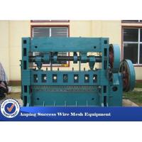 Buy cheap 3KW Aluminum Metal Flattening Machine , Expanded Metal Lathe Machine Blue Color product