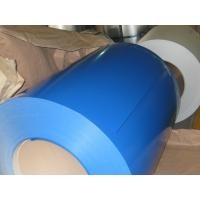 Buy cheap 25um Top 10um Back Prepainted Galvalume Steel Coil With L/C At Sight product