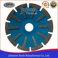 Quality 4 Inch Stone Cutting Discs , Black Diamond Blades For Circular Saw Concave T for sale