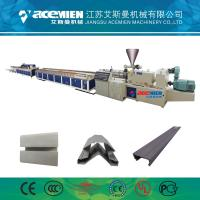 Buy cheap PVC Wood Plastic Composite Production Line Automatically High Speed 380 V product