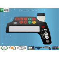 Buy cheap Membrane Switch Keypad Polydome Switch With 0.1mm PET Silver Paste Circuit Custom product