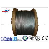 Buy cheap 6*7+FC High Carbon Galvanized Wire Rope 1570-1770MPA Tensile Strength product