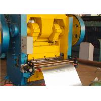 Steel Iron Aluminum Sheet Metal Perforating Machine With Hydraulic Overload Protecting Device