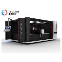 Buy cheap Eco - Friendly Fiber Laser Cutting Systems Automatic Industrial Laser Cutter product