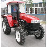 China LUZHONG tractor new model LZ604,LZ654,12F+12Rshift,8.3-24/14.9-28 big tire,flat floor on sale