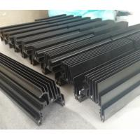 Buy cheap CNC Machined Black Anodized Aluminium Heat Sink Profiles For LED Light product