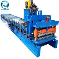Buy cheap Aluminum Mectoppo Glazed Tile Roll Forming Machine With Delta PLC Control from wholesalers