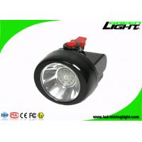 Buy cheap Msha Approved Black Cordless Mining Lights , Smallest Miner Headlamp with 15 Hours Working Lighting Time product