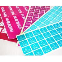 Buy cheap Packaging Custom Peel And Stick Labels , Removable Adhesive Labels For Food product