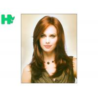 Buy cheap Natural Wave Medium Length Synthetic Hair Wigs For Elegance White Women product