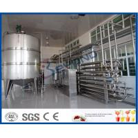 Buy cheap Aseptic Procedure Milk Pasteurization Equipment For Milk Processing Plant product