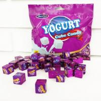 Buy cheap 50pcs Cube Shaped Candy / yogurt flavored milk candy 2.75g * 50 * 25bags product