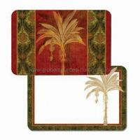 Buy cheap Plastic Placemats and Coasters for Kitchen, Non-toxic, Made of PP, Customized Designs are Accepted product