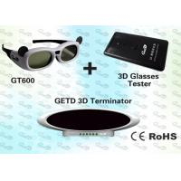 Buy cheap 3D Museum Digital 3D Glasses and IR 3D Emitter product