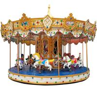 Buy cheap Amusement Rides Machine Mini Fairground Rides Small Carousel for Sale from wholesalers