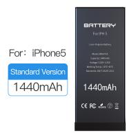 Buy cheap 1440mAh Original Capacity Iphone 5 Battery Replacement Black Color 1 Year Warranty product