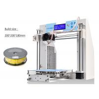 Buy cheap High - End Reprap Prusa 3D Printer Wood Filament SD Card For Rapid Prototyping product