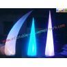 Buy cheap LED RGB Color Inflatable Lighting Decoration Cone Tusk Pillar 53CM x 52CM x 19CM product