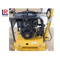 China Road Construction Gasoline Vibrating Plate Compactor with Hydraulic Control on sale
