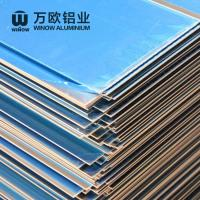 Buy cheap Metal Alloy Flat Aluminum Plate 600 - 2280mm Width High Strength For Construction product