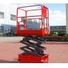 Buy cheap Norrow 8m Self Propelled Scissor Lift Self Propelled Aerial Work Platform product