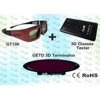 Buy cheap Cybercafé 3D IR Multimedia Emitter kit with IR 3D Emitter and IR 3D Glasses  product