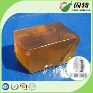 China Transparent  Industrial Hot Melt Glue Block Pressure Sensitive Gummed Paper on sale