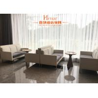 Buy cheap Modern Commercial Hotel Furniture , Leisure Sofa Chair With Metal Leg Fabric Upholstery product
