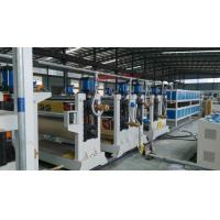 Buy cheap Two roller ACP Production Line 95mm 75mmTwin Screw Diameter For Aluminum Plate product