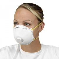 Buy cheap Non Woven Activated Carbon Respirator N95 , Carbon Filter Dust Mask With Valve product