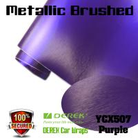 Buy cheap Matte Metallic Brushed Vinyl Wrapping Film - Matte Metallic Brushed Purple product