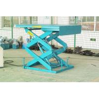 Buy cheap 1500mm lifting height stationary aerial scissor lift 3Kw with 1000kg capacity product
