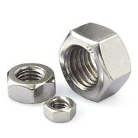 Buy cheap Industrial Grade Heavy Hex Nut Furniture Hardware Plain Surface Zn Plating product
