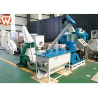 Buy cheap 440V Poultry Feed Processing Plant 50 Hz 3 Phase 600 - 800 Kg/H For Wheat Straw product