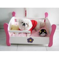 China Wooden Luxury Pet Dog Beds, Pet Bed (SFW0802) on sale
