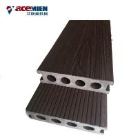 Buy cheap WPC Embossing Wood Plastic Composite Production Line Profile Extrusion 3 Phase product